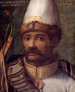 Cristofano dell'Altissimo, Tamerlano, Palazzo degli Uffizi, Complesso vasariano